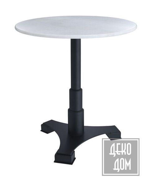 Eichholtz   Обеденный стол Mercier Round Ø70cm (арт.113571) фото   ✆ +38(067)3-999-700   Цена в Украине   Оригинальный декор для дома  