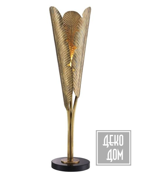 Eichholtz | Настольна лампа Plantain H84cm (арт.113971) фото | ✆ +38(067)3-999-700 | Цена в Украине | Оригинальный декор для дома |