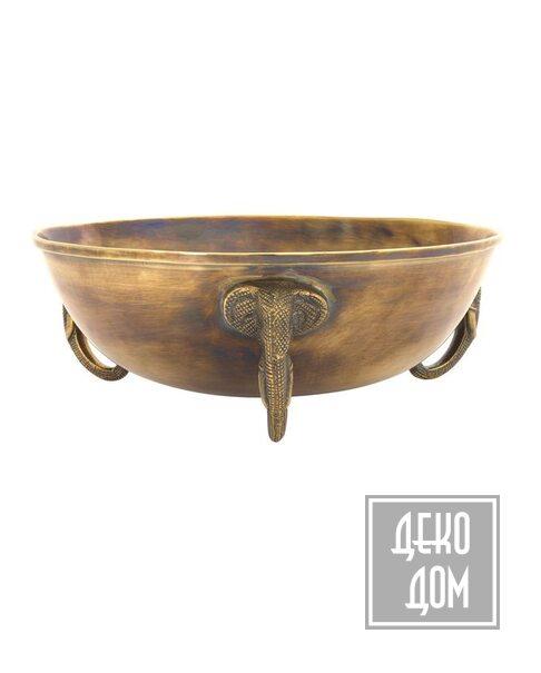Eichholtz | Чаша Maharaja Ø32cm (арт.114159) фото | ✆ +38(067)3-999-700 | Цена в Украине | Оригинальный декор для дома |