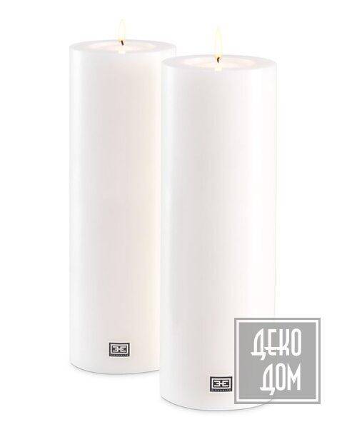 Eichholtz   Искусственная свеча H35cm 2\Set (арт.115302) фото   ✆ +38(067)3-999-700   Цена в Украине   Оригинальный декор для дома  