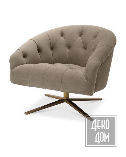 Eichholtz | Вращающееся кресло Gardner (арт.115706) фото | ✆ +38(067)3-999-700 | Цена в Украине | Оригинальный декор для дома |