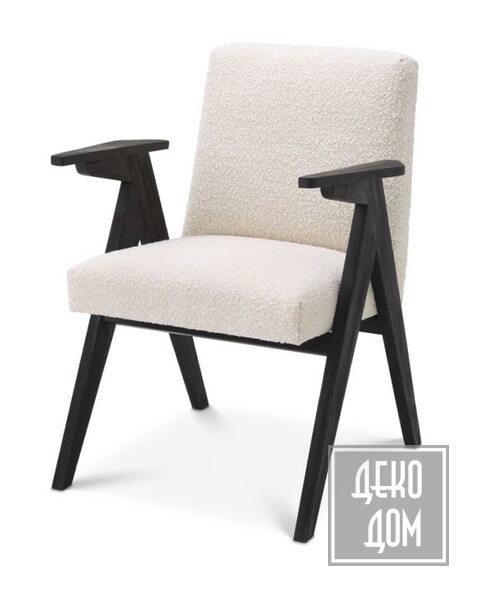 Eichholtz   Обеденный стул Bobo (арт.115035) фото   ✆ +38(067)3-999-700   Цена в Украине   Оригинальный декор для дома  
