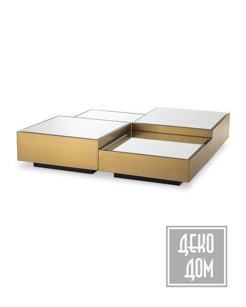 Eichholtz | Кофейный столик Esposito 120x120cm (арт.114369) фото | ✆ +38(067)3-999-700 | Цена в Украине | Оригинальный декор для дома |