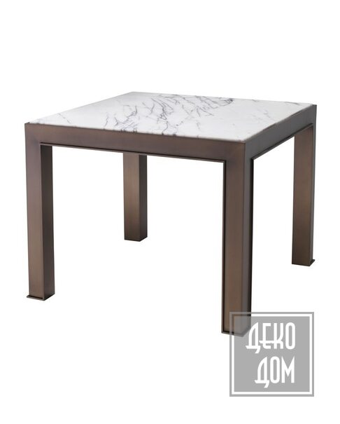 Eichholtz   Столик Tardieu 65x65cm (арт.114660) фото   ✆ +38(067)3-999-700   Цена в Украине   Оригинальный декор для дома  