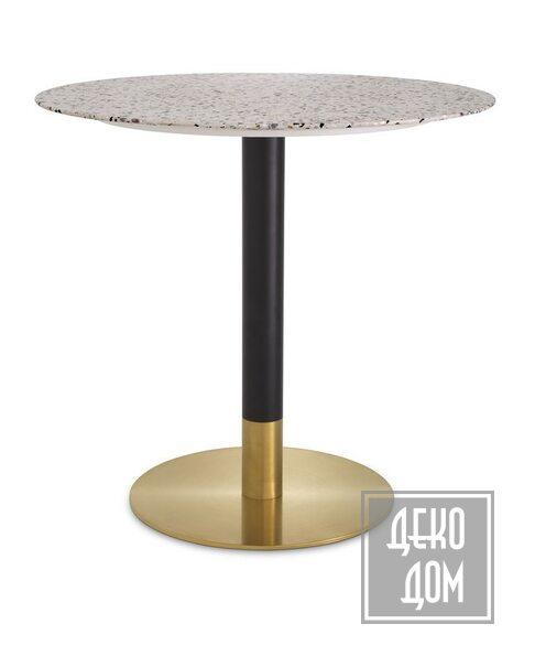 Eichholtz | Обеденный стол Trevor Ø80cm (арт.115556) фото | ✆ +38(067)3-999-700 | Цена в Украине | Оригинальный декор для дома |