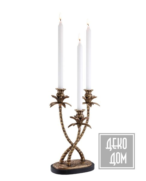 Eichholtz | Подсвечник Villa d'Este (арт.110090) фото | ✆ +38(067)3-999-700 | Цена в Украине | Оригинальный декор для дома |