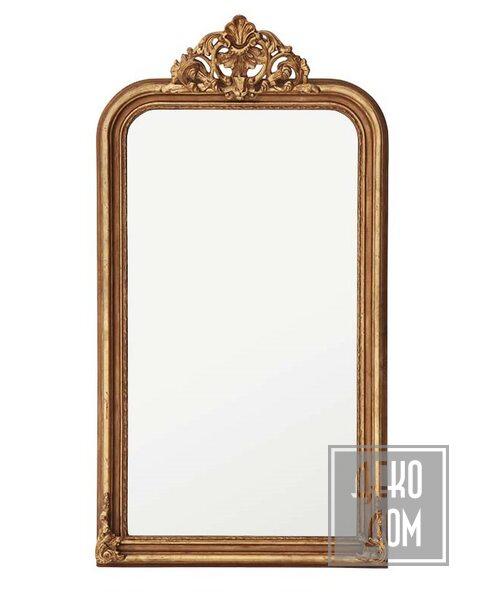 Eichholtz | Настенное зеркало Boulogne Guilded 170x90cm (арт.107282) фото | ✆ +38(067)3-999-700 | Цена в Украине | Оригинальный декор для дома |