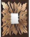 Eichholtz   Настенное зеркало Moonriver 120x120cm (арт.110015) фото   ✆ +38(067)3-999-700   Цена в Украине   Оригинальный декор для дома  