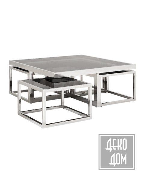 Eichholtz | Журнальный столик Monogram (арт.108460) фото | ✆ +38(067)3-999-700 | Цена в Украине | Оригинальный декор для дома |