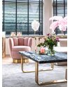 Вращающееся кресло Calista Pink (арт.S4498)