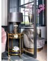 DecoDom   Столик на колесах Hendricks Round (арт.9422) фото   ✆ +38(067)3-999-700   Цена в Украине   Оригинальный декор для дома  