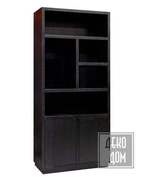 DecoDom   Книжный шкаф Oakura Black Right (арт.6515) фото   ✆ +38(067)3-999-700   Цена в Украине   Оригинальный декор для дома  