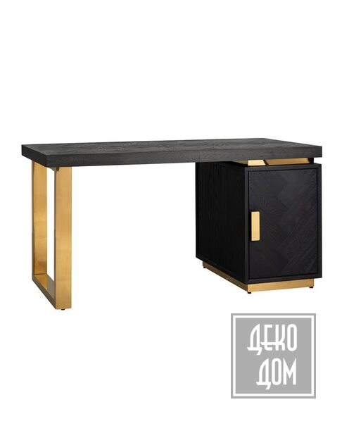 DecoDom | Письменный стол Blackbone Gold 150x70cm (арт.7462) фото | ✆ +38(067)3-999-700 | Цена в Украине | Оригинальный декор для дома |