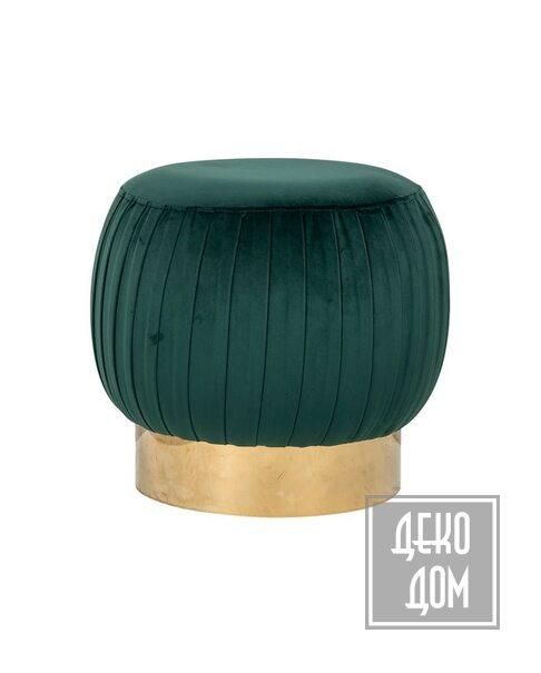 DecoDom | Пуф Faye Green Ø50cm (арт.S4428) фото | ✆ +38(067)3-999-700 | Цена в Украине | Оригинальный декор для дома |