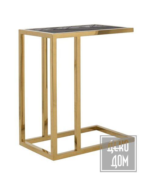 DecoDom | Диванный столик Blackbone Gold (арт.7436) фото | ✆ +38(067)3-999-700 | Цена в Украине | Оригинальный декор для дома |