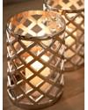DecoDom | Подсвечник Joni Silver H24cm (арт.WL-0028) фото | ✆ +38(067)3-999-700 | Цена в Украине | Оригинальный декор для дома |