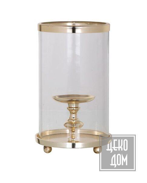 DecoDom | Подсвечник Havily Gold H27cm (арт.WL-0054) фото | ✆ +38(067)3-999-700 | Цена в Украине | Оригинальный декор для дома |