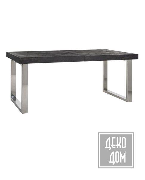 DecoDom | Раскладной стол Blackbone Silver 195\265x100cm (арт.7410) фото | ✆ +38(067)3-999-700 | Цена в Украине | Оригинальный декор для дома |