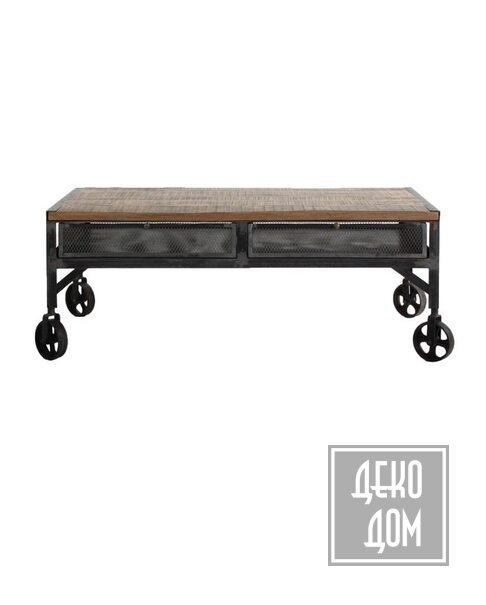DecoDom* | Кофейный столик TRENTON 120x65cm (VH-21030) фото | ✆ +38(067)3-999-700 | Цена в Украине | Оригинальный декор для дома |