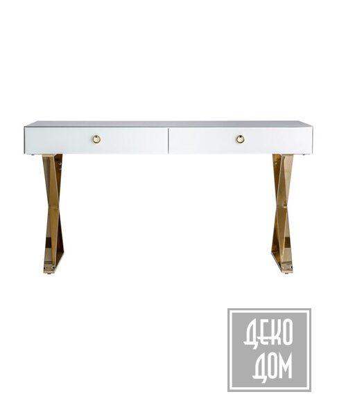 DecoDom*   Письменный стол SZANY L150cm (арт.VC-28918) фото   ✆ +38(067)3-999-700   Цена в Украине   Оригинальный декор для дома  