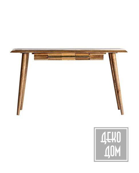 DecoDom*   Письменный стол PLISSE L135cm (арт.VH-29012) фото   ✆ +38(067)3-999-700   Цена в Украине   Оригинальный декор для дома  
