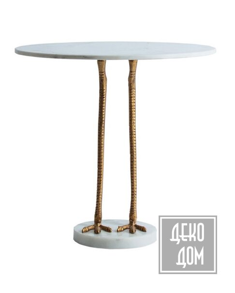 DecoDom* | Столик DUCK Ø60cm (VC-26979) фото | ✆ +38(067)3-999-700 | Цена в Украине | Оригинальный декор для дома |