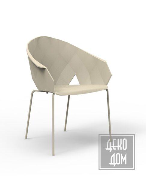 Vondom | Кресло Vases (арт.47070-Ecr) фото | ✆ +38(067)3-999-700 | Цена в Украине | Оригинальный декор для дома |